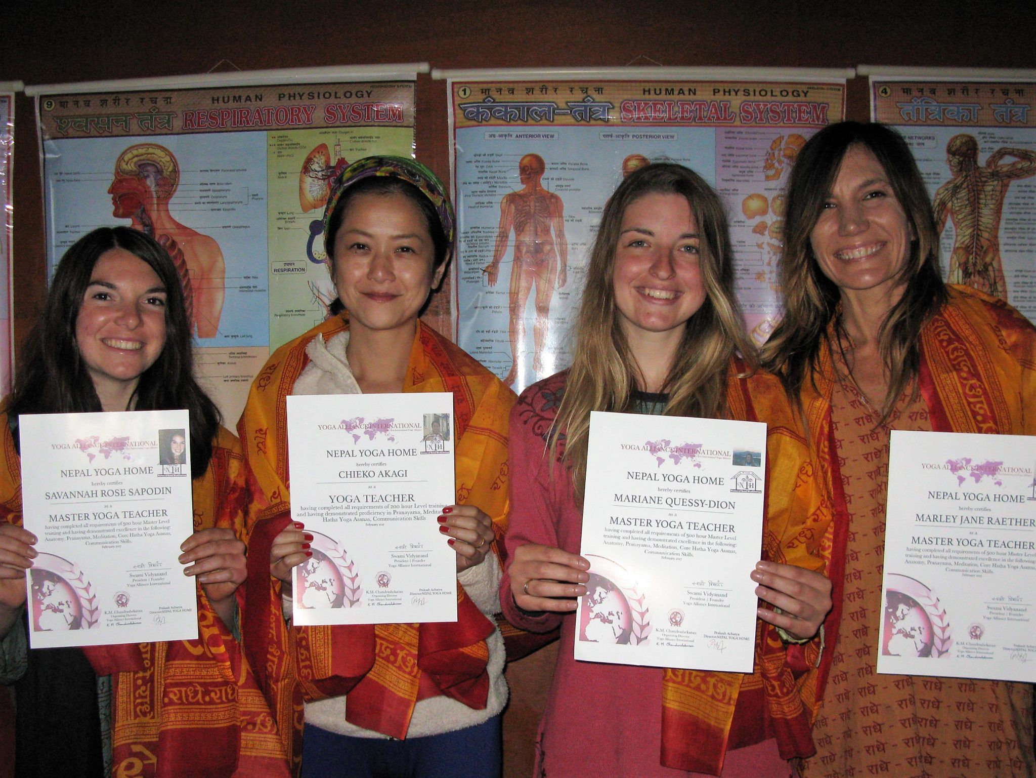 Certified yoga training in Nepal