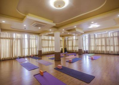 Yoga Hall in Nepal