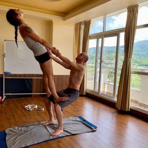 yoga retrat in Nepal