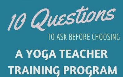 10 Popular Yoga Teacher Training Questions